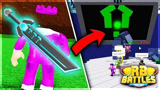 How To Unlock RUSSO'S SWORD OF TRUTH! (RB Battles Sword) | Roblox Build A Boat