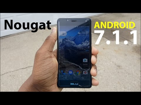 BLU R1 HD: Android 7.1 Nougat ROM Review!