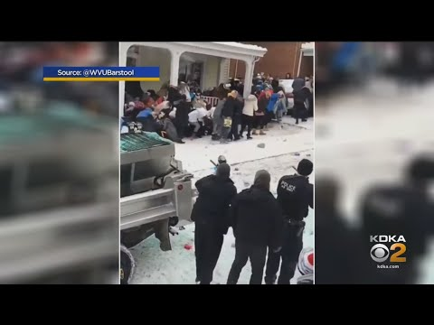 Snow Day Turns Into Riot Near WVU Campus