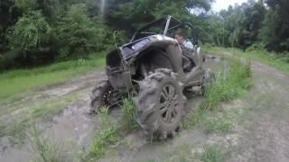 34 inch BKT tr171 Deep Tread in some nasty clay super ATV Portal lifted RZR