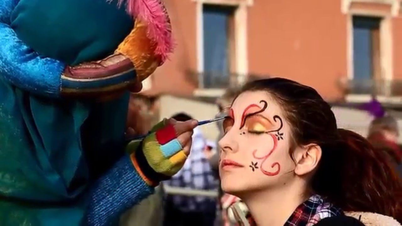 Super Make Up - Face Painting - Venice Carnival 2016 - YouTube LC17