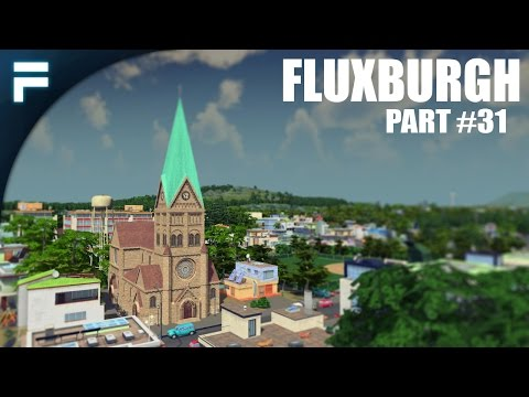 "Cities Skylines - Fluxburgh [PART 31] ""Farmland & Uni Housing"""