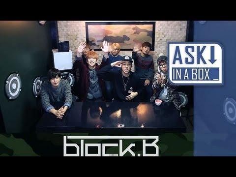 ASK IN A BOX: Block B(블락비)_NILLILI MAMBO(닐리리 맘보) [ENG SUB]