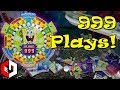 MAXING OUT The Arcade Game! 999 RAPIDFIRE PLAYS at Spongebob Coin Pusher Arcade Game!
