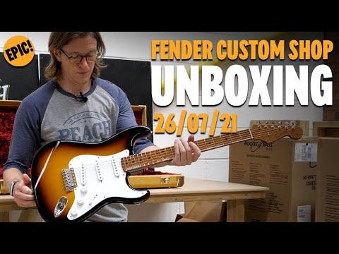 Fender Custom Shop Unboxing  26th July 2021