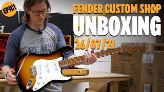 Fender Custom Shop Unboxing - 26/07/2021