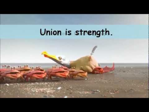 Union is strength !! - YouTube