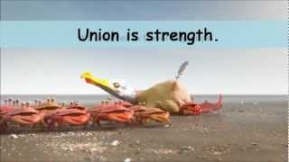 Union is strength !!