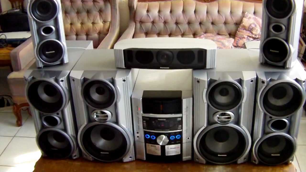 panasonic home theater sc tm1000dvd youtube. Black Bedroom Furniture Sets. Home Design Ideas