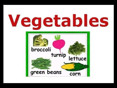 Green Vegetable Names