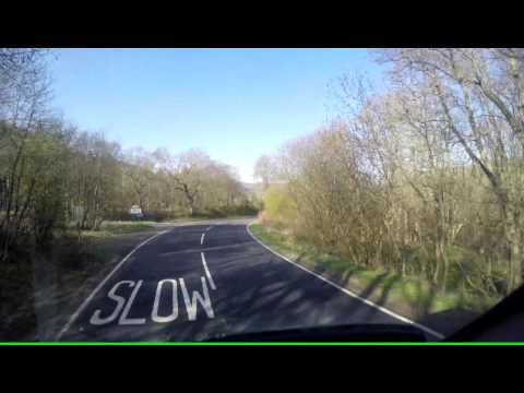 Richmond to Keld Cab Ride on the Little White Bus in 4K