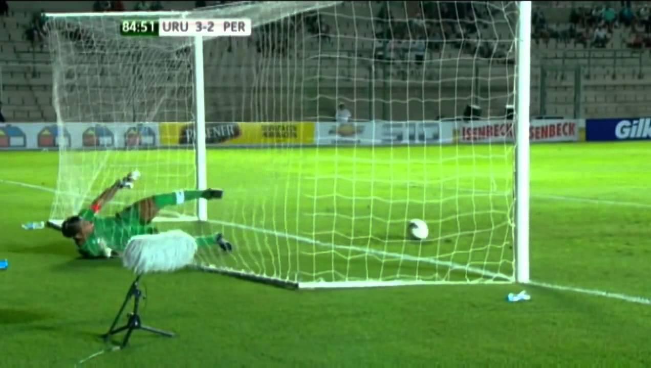 BEST SAVE EVER! Peru vs. Uruguay U20 [HD]