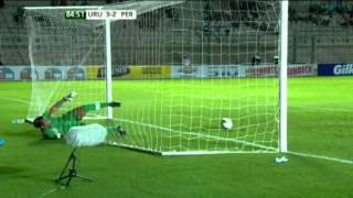 BEST SAVE EVER! Peru vs. Uruguay U20 [HD]