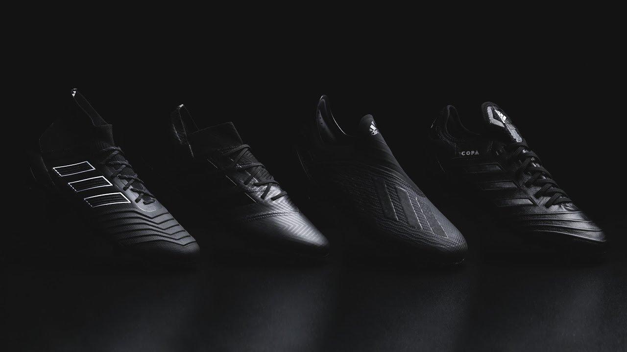 brand new 3ad25 37566 REVIEW adidas SHADOW MODE   ¡Vuelven las botas negras! Adiós Rusia 2018,  hola temporada de clubs. Fútbol Factory