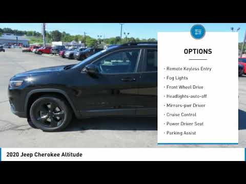 2020 Jeep Cherokee For more information on New 2020 Jeep Cherokee Altitude for sale in the Nash