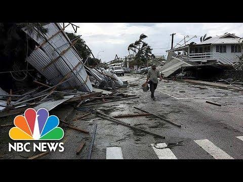 Cyclone Pummels Tonga, Flattens Nation's Parliament | NBC News