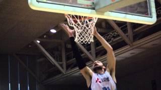 つくばロボッツvs三菱電機名古屋 バスケットボール 2015.3.1vol.41 五十...