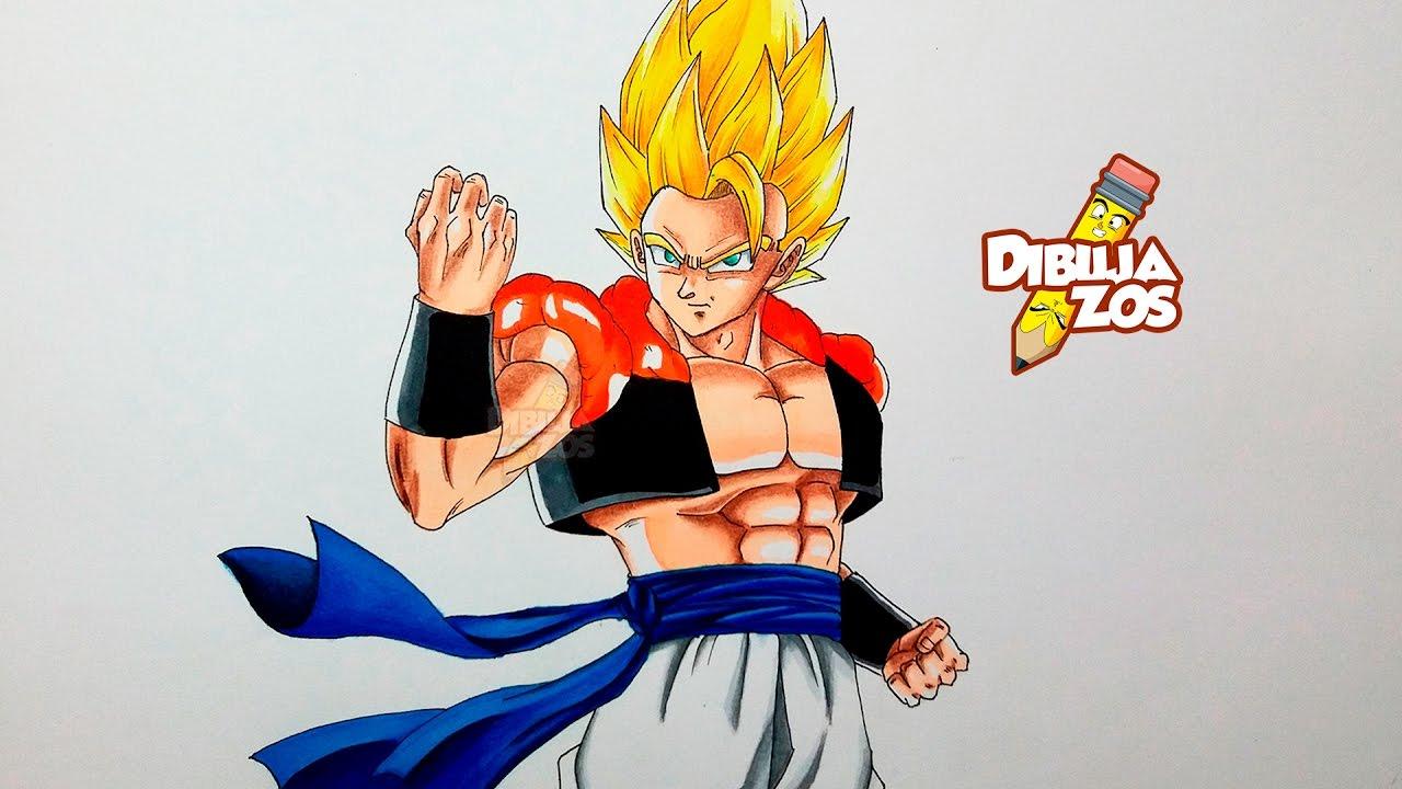 Imagenes De Gogeta Y Vegito Para Dibujar: DRAWING GOGETA SS - YouTube