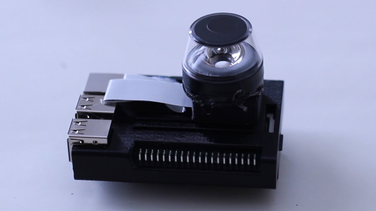 How To Make A Cheap 360 Video Camera With A Raspberry Pi - Part 1