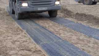 Дорожные плиты МДП МобиМат - временные дороги(, 2013-09-15T19:58:32.000Z)