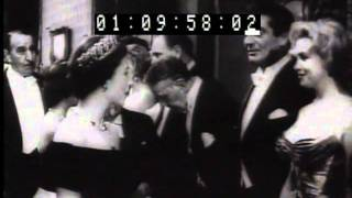 Marilyn Monroe Newsreel Clips 1954-1962 with John F. Kennedy Joe DiMaggio and Arthur Miller