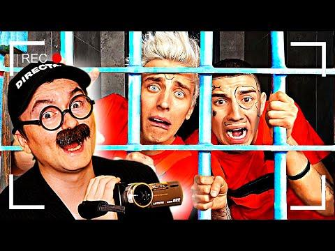 Как снимали А4: 24 часа в тюрьме челлендж!
