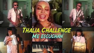 🎵Thalia Challenge-  Me Escuchan (Merengue)🎸remix