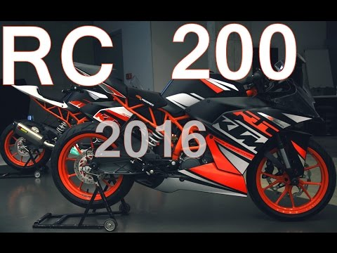 KTM RC 200 ABS - 2016 Edition [New]