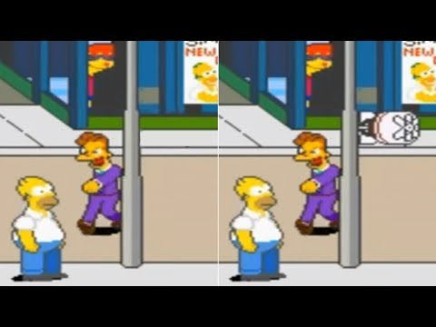 How The Simpsons Arcade Is Changed In Japan
