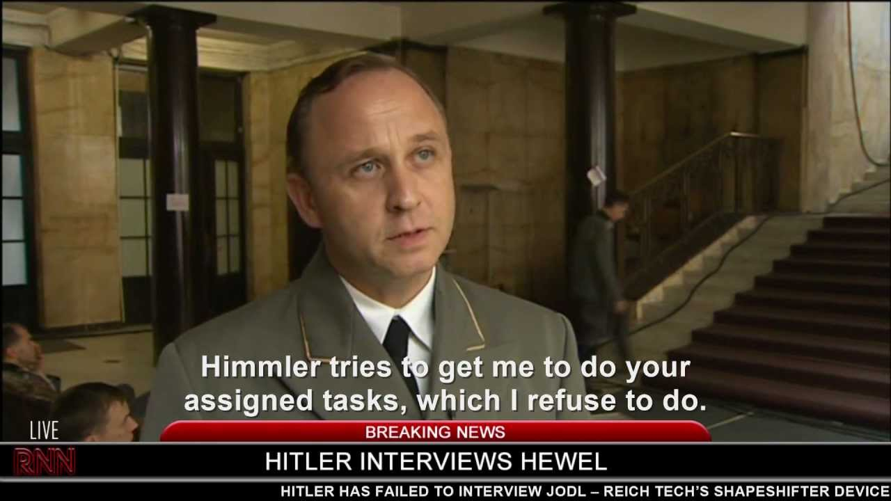 Hitler interviews Hewel