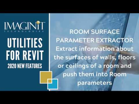 Utilities for Revit: Room Surface Parameter