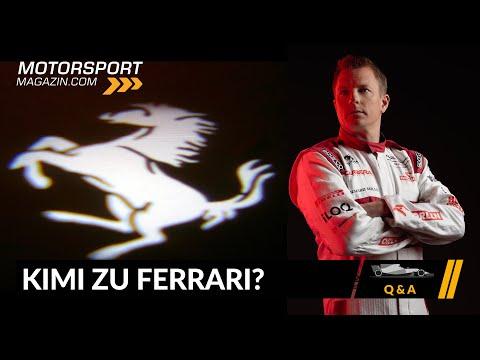 Kehrt Kimi Räikkönen zu Ferrari zurück? – Formel 1 2020 (Q&A)