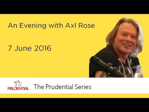 OFFICIAL An Evening with Axl Rose