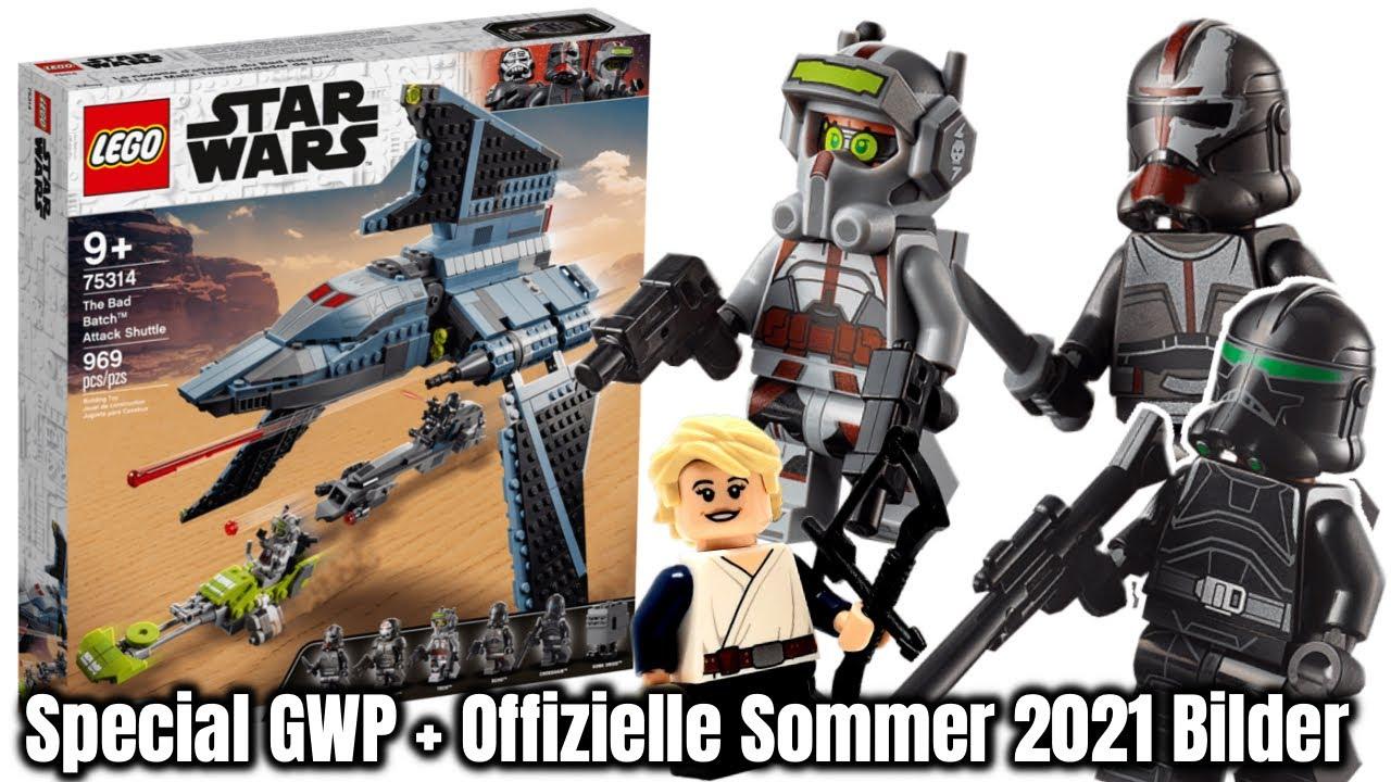 Ich hab mich geirrt: LEGO Star Wars 'Bad Batch Shuttle' Bilder + Figur als GWP!  Set 75314