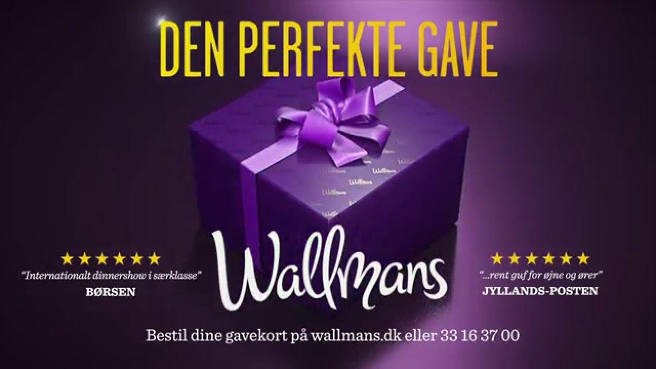 b66e0f70157 Den perfekte gave | Gavekort | Wallmans - YouTube