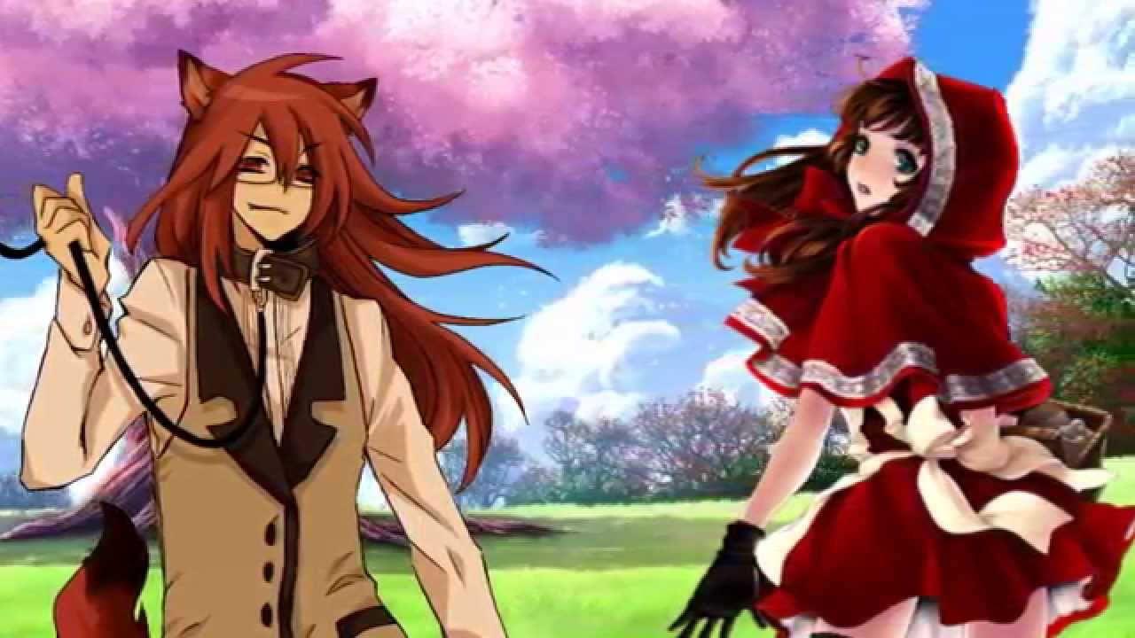 Little red riding hood x wolf anime pictures to pin on pinterest red riding hood by vermeillerose on deviantart 765x1258 ayeyna x kei the wolf that fell in love sciox Choice Image