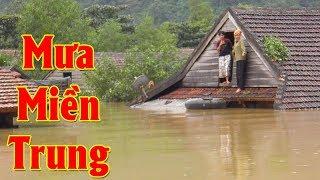 Mưa Miền Trung - Nghẹn Ngào Rơi Nước Mắt Với Những Bài Hát Về Miền Trung Bão Lũ Lụt Hay Nhất 2017