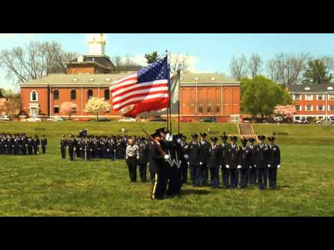 UNG Corps of Cadets Color Guard