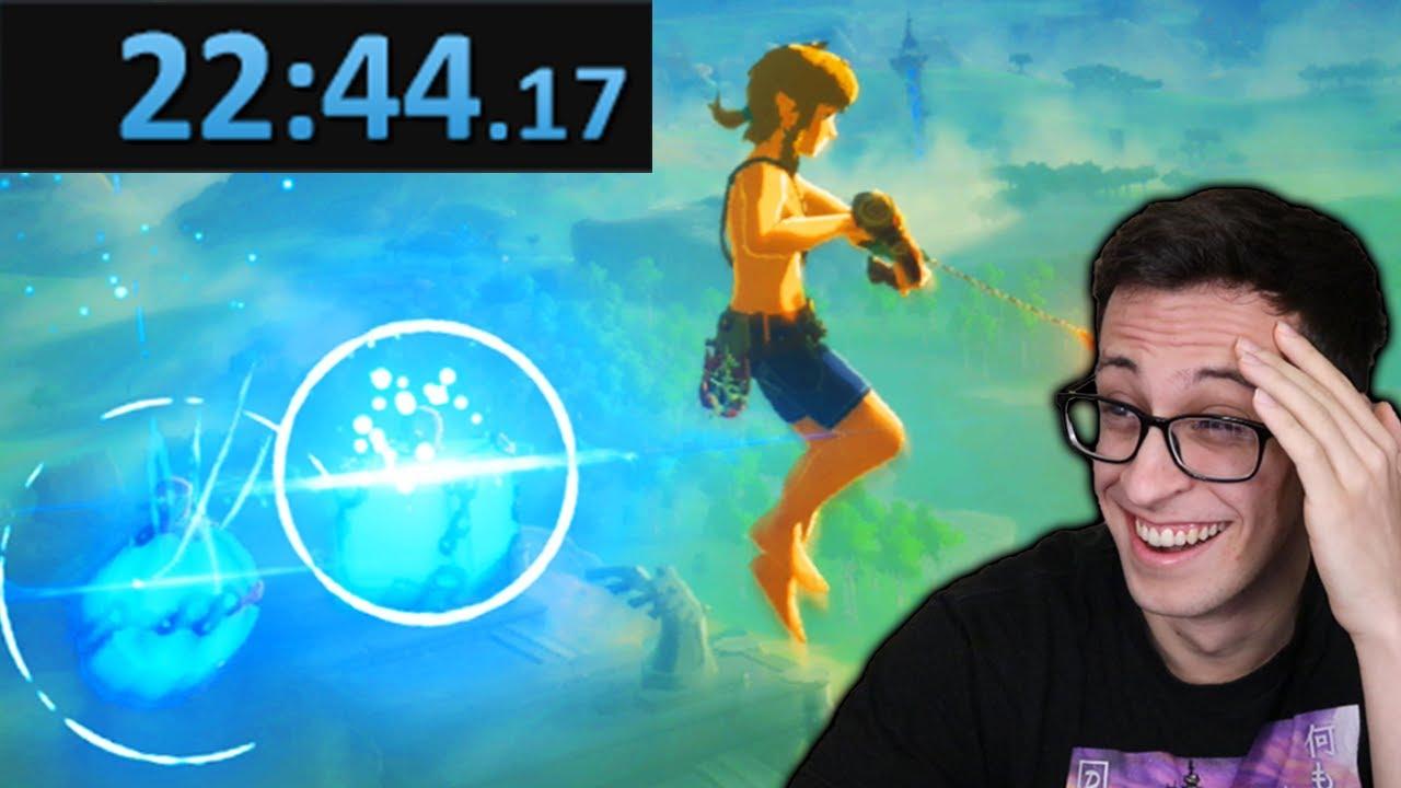 Speedrunner reacts to the fastest speedrun of Breath of the Wild