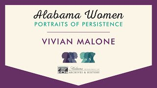 Vivian Malone, Civil Rights Activist