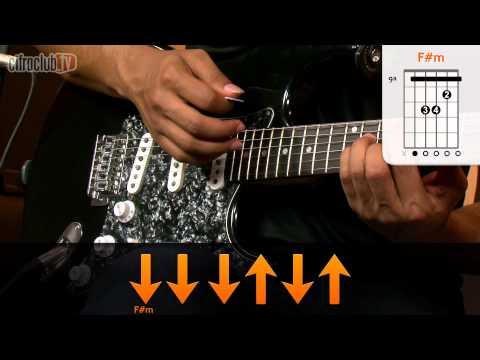 Under The Bridge - Red Hot Chili Peppers  de guitarra
