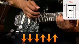 Under The Bridge - Red Hot Chili Peppers (aula de guitarra)