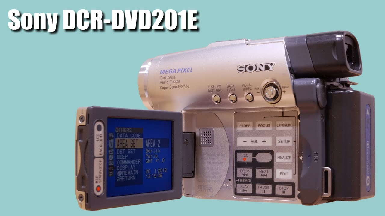 sony dcr-dvd201 driver