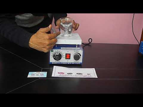 Video Magnetic Stirrer With Hot Plate Working Instruction Tutorial By Abron Exports