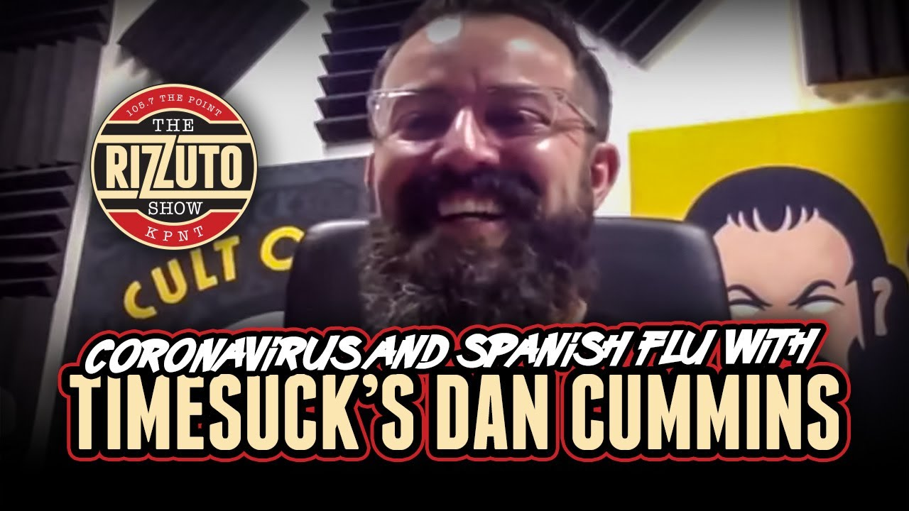 DAN CUMMINS talks COVID 19, celebrities showing their true colors & more! [Rizzuto Show]