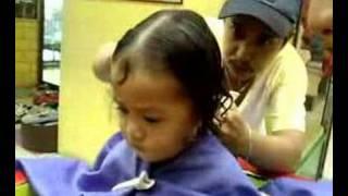 chelsea's 1st haircut