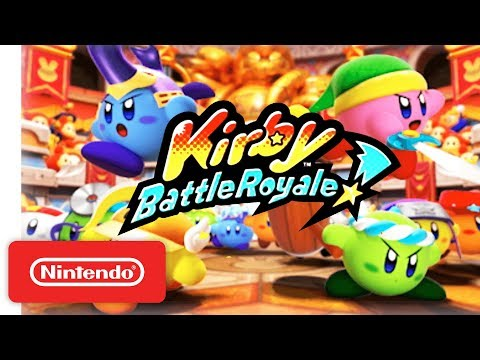 Kirby: Battle Royale - Reveal Trailer - Nintendo 3DS - Nintendo Direct 9.13.2017