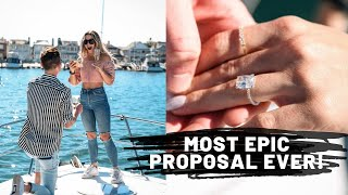 MOST EPIC PROPOSAL EVER! | How He Asked *complete surprise