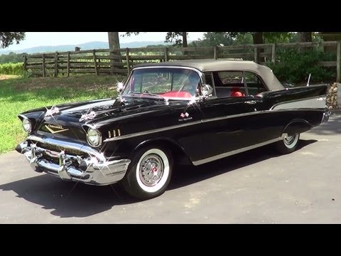 1957 Chevy Fuel Injected Convertible