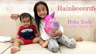 Rainbocorns Dream  Zara Cute buka Kado Surprise dari Papa